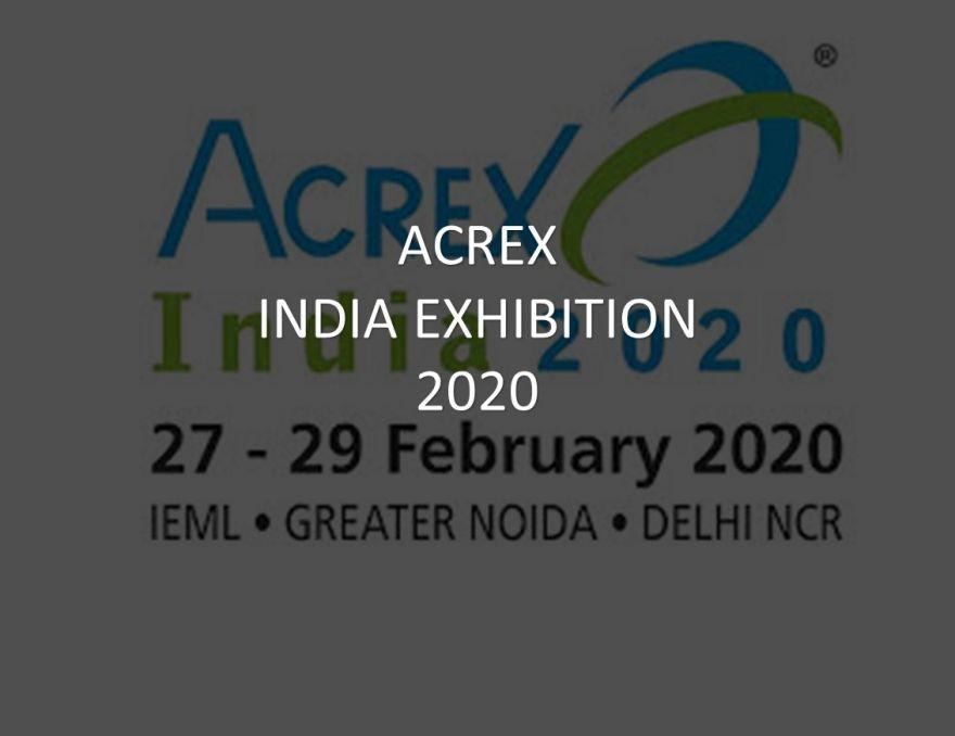 ACREX 2020 in India 27-29.02.2020