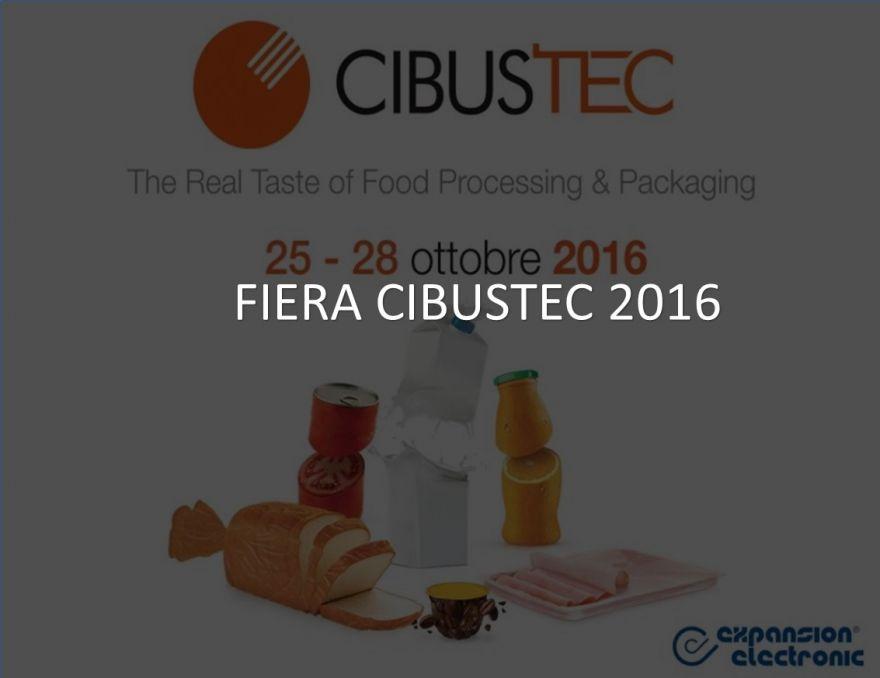 FIERA CIBUSTEC PARMA 25-28 OTTOBRE 2016