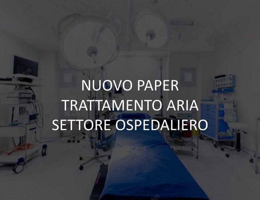 TRATTAMENTO ARIA SETTORE OSPEDALIERO