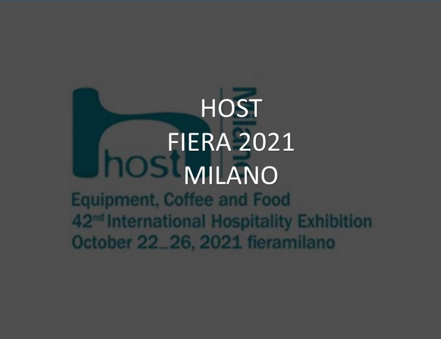 HOST 2021 a Milano 22-26.10.2021