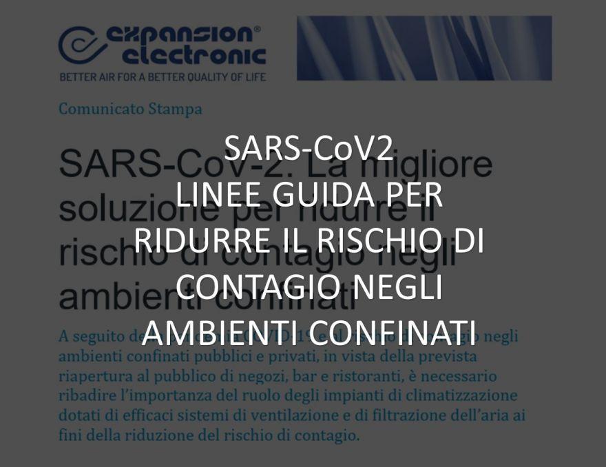 COMUNICATO SARS COV2