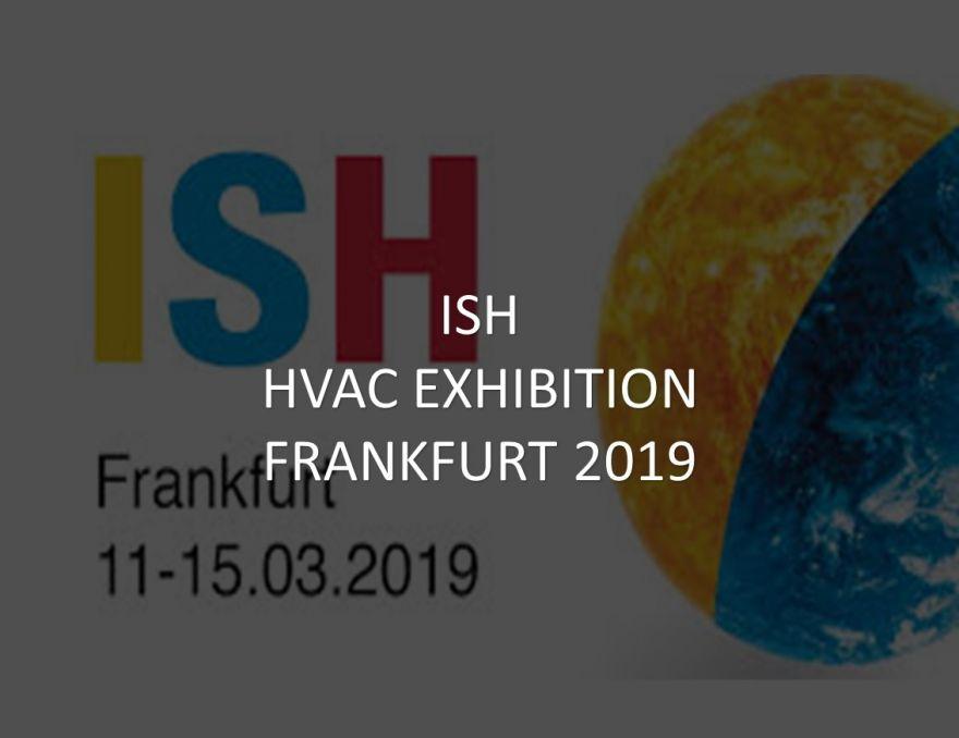 ISH in Frankfurt 11-15/03/2019