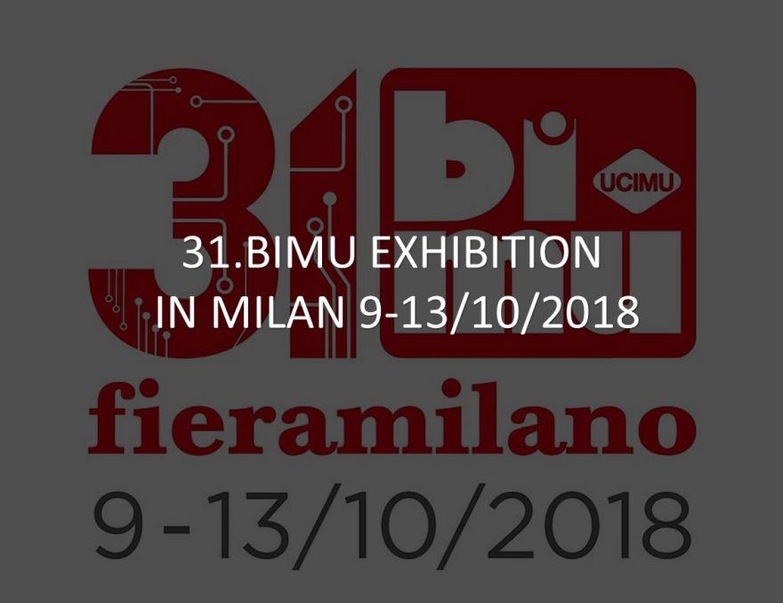 31.BI-MU Fiera Milano 9-13/10/2018