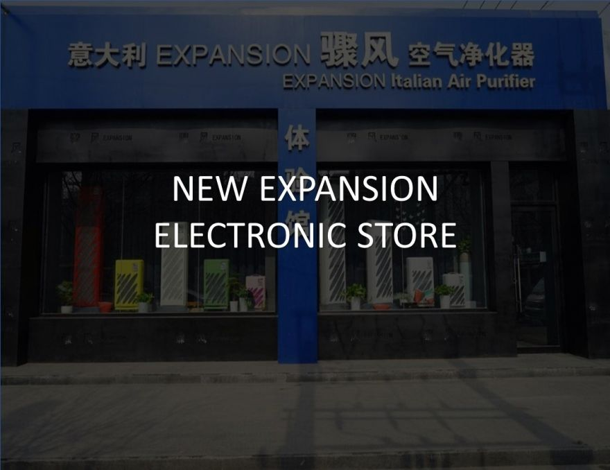 New Expansion Electronic Store