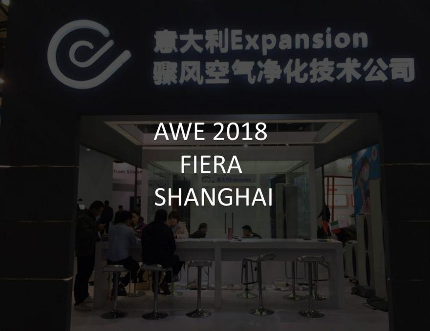AWE 2018 Fiera in Shanghai