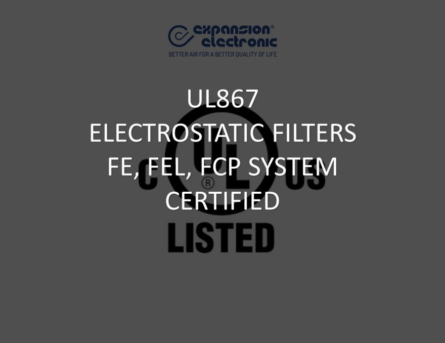 UL867 ESPs CERTIFICATION