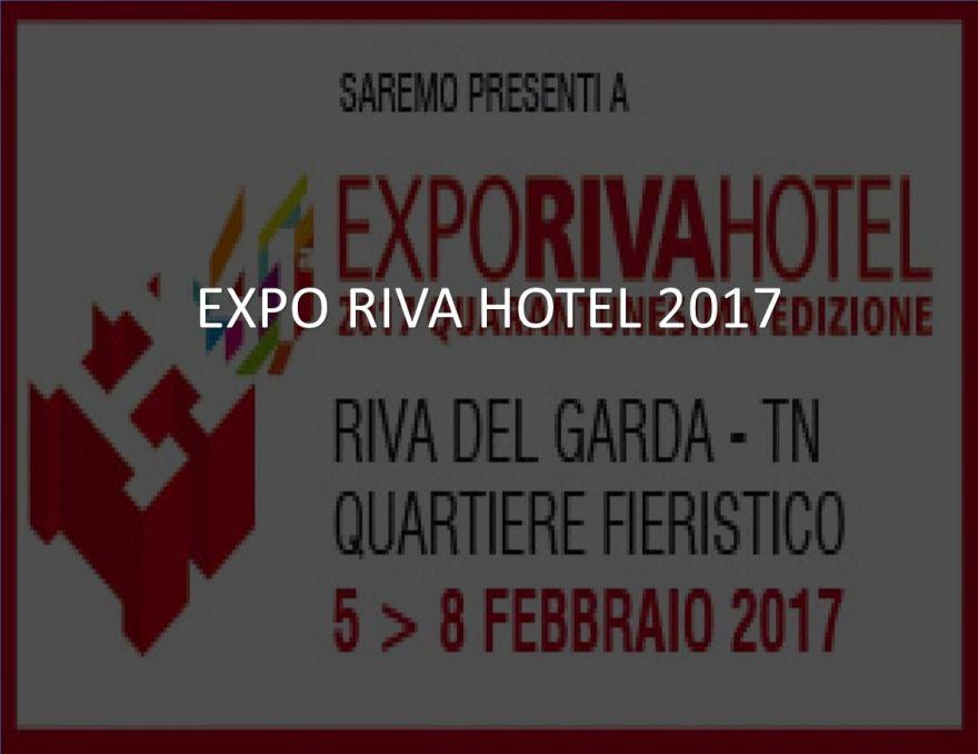 FIERA EXPO RIVA HOTEL 5-8 FEBBRAIO 2017