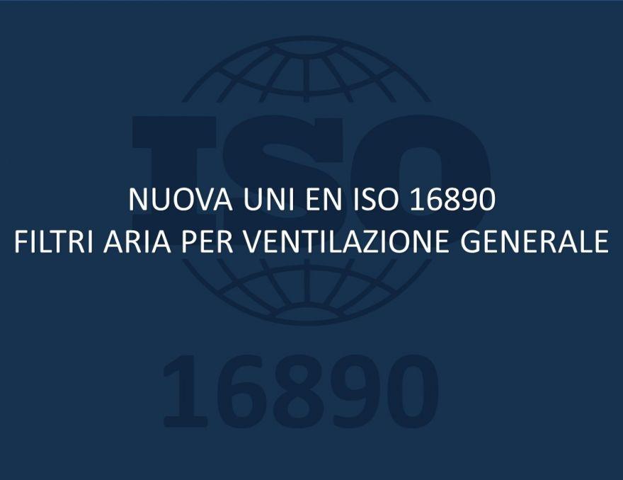 FE System certificato EN ISO 16890